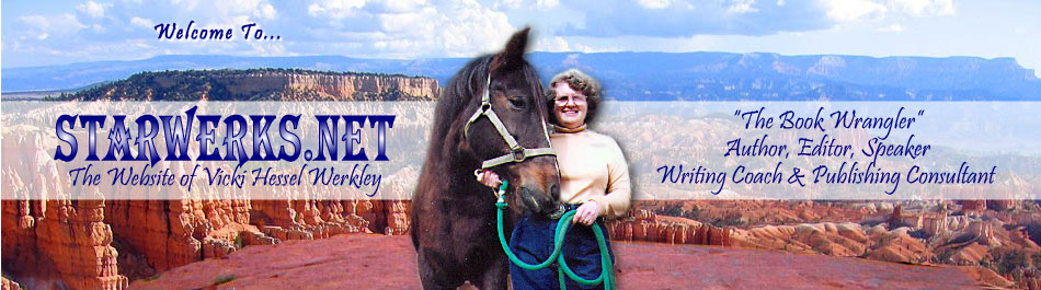 Vicki with horse